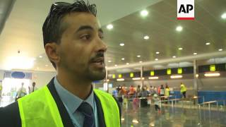 (16 Jul 2017) LEAD IN: Residents of Benghazi are celebrating the re-opening of their international airport, which was destroyed ...
