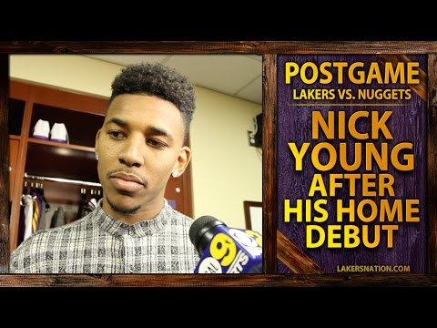 Video: Lakers Vs. Nuggets: Nick Young Talks Team Getting Away From Sharing The Ball
