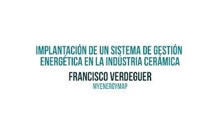 Implantación de un Sistema de Gestión Energética en la Industria Cerámica