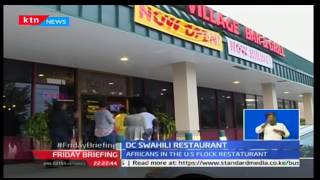 Video Kenyan restaurant owner in Washington DC hopeful for good business under Trump presidency MP3, 3GP, MP4, WEBM, AVI, FLV Juli 2018