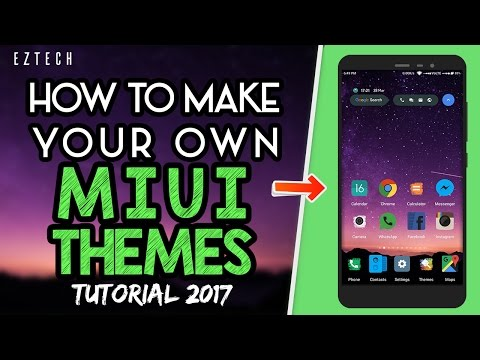 How To Make Your Own MIUI Themes | Easiest Way | Tutorial | 2017