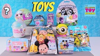 Today we have so many cute toys to open with you.  There are Disney Tsum Tsum, LOL Surprise, Hatchimals CollEGGtibles & Color Change Baby Secrets.  There are so many more.  Leave a comment and let us know which one you like the best.****************************************************************************************************Welcome to PSToyReviews where Paul, Shannon & Simon the cat open all kinds of fun toys.  We love blind bags here including Shopkins, Disney, My Little Pony MLP, Tokidoki Moofia, Unicornos, Lego & tons of others.  We also love hidden surprise eggs & mystery toys.  You will find us opening unboxing toys, playsets and all sorts of kids toys including reviews, play & arts & crafts fun.  Don't forget the Play-Doh creations or slime either because it's so much fun.  Leave a comment while you are here, we love hearing from our fans.****************************************************************************************************Subscribe to PSToyReviews here: http://tinyurl.com/qfqtrbr****************************************************************************************************Other Places To Find Ushttps://www.instagram.com/pstoyreviewshttps://twitter.com/pstoyreviewshttps://www.facebook.com/pstoyreviews****************************************************************************************************Check Out Some Of Our Other Videos In PlaylistsShopkins - season 1, 2, 3, 4, Food Fair, Playsets, Shoppies http://bit.ly/1VHfBBRBlind Bag Treehouse Episodes http://bit.ly/1S2HOjQPaul vs Shannon - Who Will Win?  http://bit.ly/1WjUlCGBath Bombs Fizzies http://bit.ly/1qA35INPlay-Doh Surprise Eggs & Challenges http://bit.ly/1Ngw7lyBlind Bags Paloozas http://bit.ly/23rPDVmDisney Fun Including Princesses  http://bit.ly/23kpdbvArts & Crafts (Crayola Coloring, custom DIY Shopkins & more) http://bit.ly/1SWnD7zToy Hunting, Surprise Presents & Hauls http://bit.ly/1RXqJWg****************************************************************************************************Don't forget to like, subscribe and share our channel with your friends.  This way we can keep bringing you even more videos.  :-)****************************************************************************************************We are not accepting fan mail at this time.  Thank you so much to our wonderful fans.  If you have a drawing for us you can share it on our Instagram or Facebook page.****************************************************************************************************Business inquires only  paulandshannonstoyreviews@gmail.com****************************************************************************************************