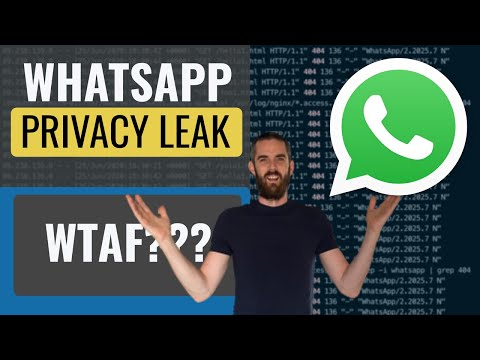 Is WhatsApp leaking your Private Information?