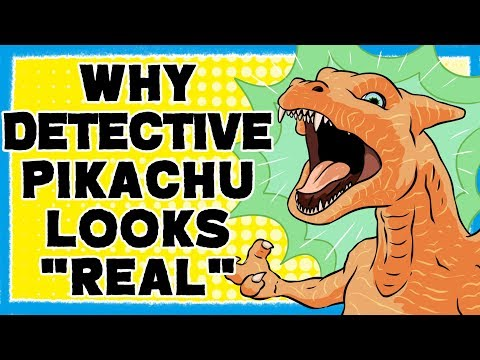"""Why Pokémon in Detective Pikachu Look """"Real"""""""