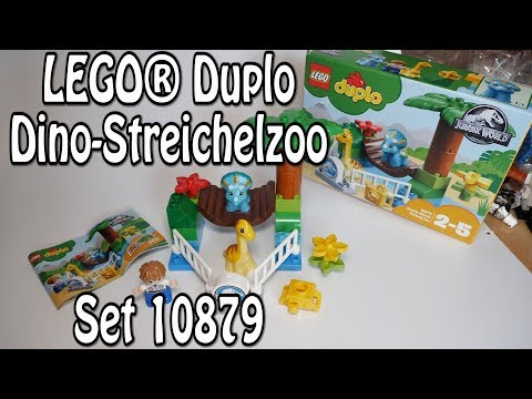 Duplo Dino-Streichelzoo (LEGO Set 10879 Zu Jurrasic World)