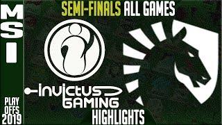 Video IG vs TL Highlights ALL GAMES | MSI 2019 Semi-finals Day 6 | Invictus Gaming vs Team Liquid MP3, 3GP, MP4, WEBM, AVI, FLV Agustus 2019