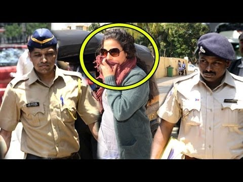Vidya Balan Gets Arrested By Police For Kahaani 2