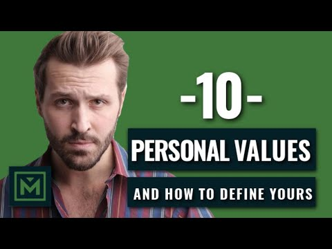 Why Every Man NEEDS Core Values + 10 Personal Values Of History's Great Men