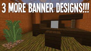 3 COOL BANNER DESIGNS #2 :: MINECRAFT