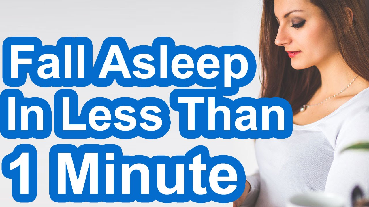 €� How To Fall Asleep In Less Than 1 Minute  #howtofallasleepinlessthan1minute #fallasleepintwominute
