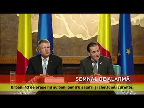 Orban: România nu poate menţine ţinta de deficit bugetar