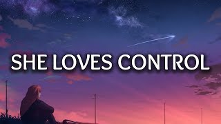 Video Camila Cabello - She Loves Control (Lyrics) download in MP3, 3GP, MP4, WEBM, AVI, FLV January 2017
