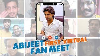 Abijeet First Virtual Fan Meet    #BiggBossTelugu4
