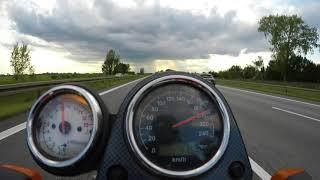 10. Suzuki SV650 2000 Top Speed mit 53 KW / 72 PS