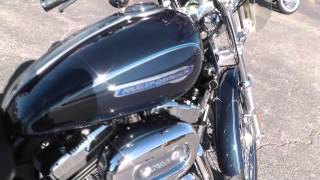 10. 402451 - 2009 Harley Davidson Sportster 1200 Custom XL1200C - Used Motorcycle For Sale