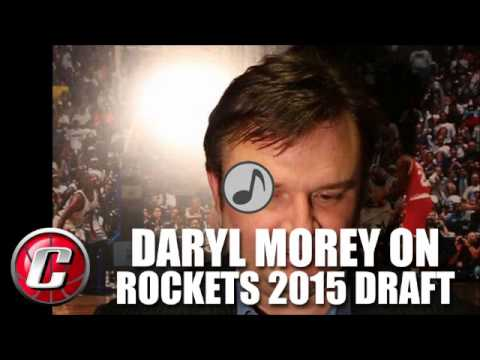 Daryl Morey on Rockets drafting Sam Dekker, Montrezl Harrell