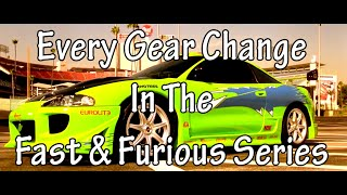 Nonton Every Gear Change In The Fast And Furious Series Film Subtitle Indonesia Streaming Movie Download