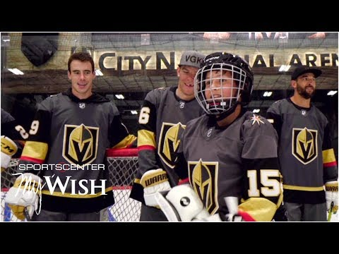 Video: My Wish: Marc-Andre Fleury, Golden Knights make teen's wish come true | SportsCenter