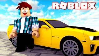 image of Roblox - COMPREI UM CAMARO AMARELO !!