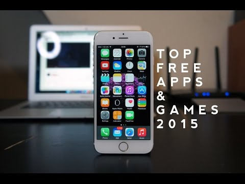 Top FREE iPhone 6 & 6Plus Apps & Games 2015