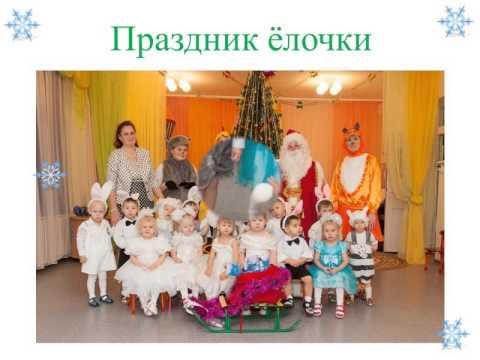 Праздник Ёлочка в 1 группе. 2012-2013 г