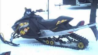 8. 2009-2010 ski-doo sled rebuild