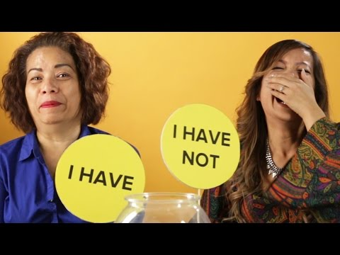 People Play 'Never Have I Ever' With Their Parents