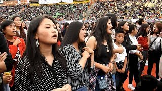 The Super Concert featuring K-POP artists (Double Eight, Seven O'clock, Stellar, Classy and Fresh Boyz) and Local Bands (Baby...