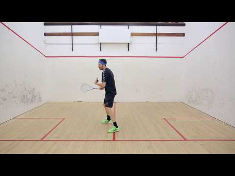 Squash tips: Skimming stones and forehand technique!