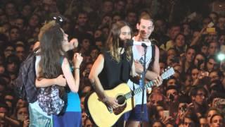 30 Seconds To Mars - Alibi (con Fans) - Torino 19/06/2014 HD