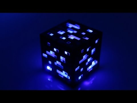 0 Minecraft Light Up Diamond Ore