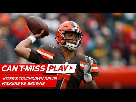 Video: DeShone Kizer Guides Cleveland Downfield for TD to Take the Lead! | Can't-Miss Play | NFL Wk 14