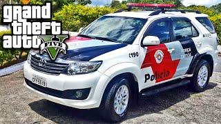 GTA V Mod Policia - Hilux SW4 - GTA 5 - Carros Policia ► BLAZER DA POLICIA BRASIL - https://youtu.be/JUX6QkvKBqE ► VEJA MAIS CARROS PARA GTA 5 - https://goo....