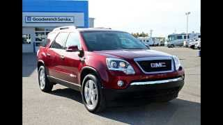 2008 GMC Acadia In Review, Red Deer