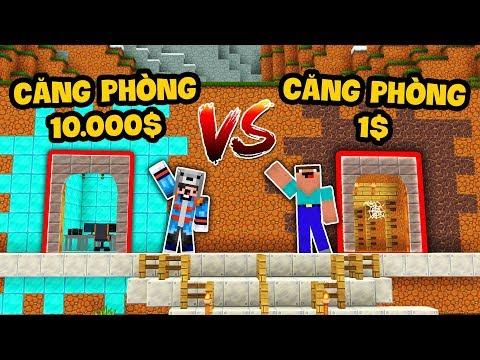 CĂN PHÒNG KIM CƯƠNG 10.000$ VS CĂN PHÒNG ĐẤT 1$ (Oops Mazk Minecraft) - Thời lượng: 12:05.