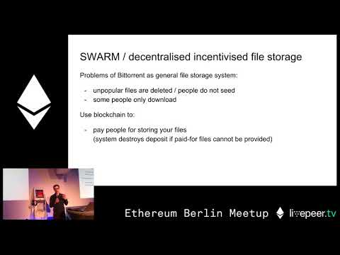 Workshop: Introduction to smart contract programming - Christian Reitwiessner - at GSC video