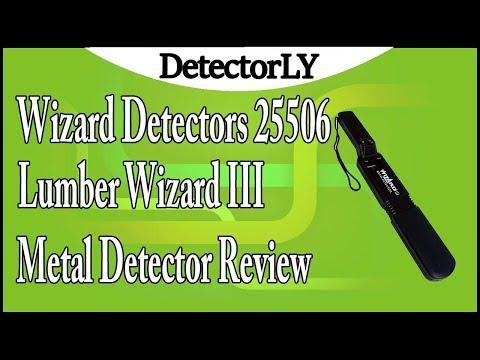 Wizard Detectors 25506 Lumber Wizard III Metal Detector Review