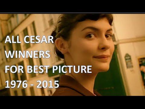 Tous les César du Meilleur film 1976-2015 (Best Picture)