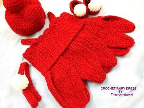 CROCHET  BABY TINKER BELL COSTUME  -B