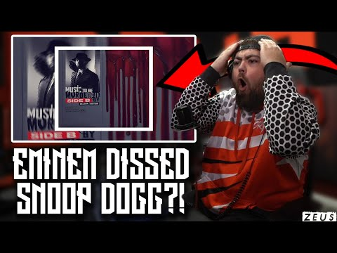 SNOOP GOT DISSED?! | RAPPER REACTS to Eminem - Zeus ft. White Gold