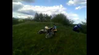 10. Husqvarna CR125 Crash | Husqvarna CR 125 front flip crash
