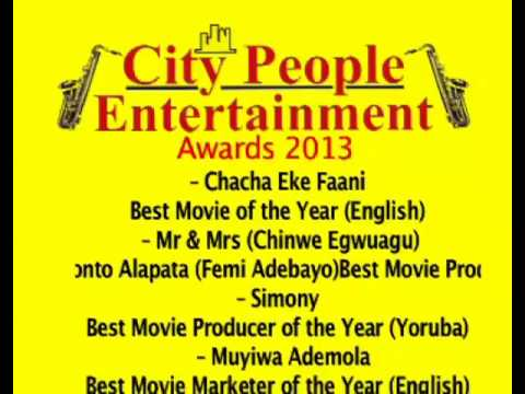 City People Entertainment Awards 2013