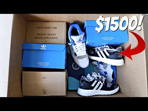 UNBOXING: $1,525 Sneaker Mystery Box (What's Inside?)