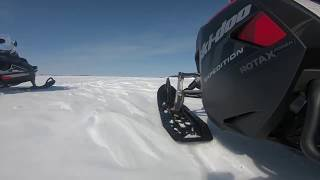 7. The RAS 2 Front Suspension on the Ski-Doo Expedition SWT.