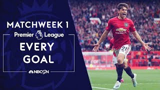 Video Every goal from Premier League 2019/20 Matchweek 1  | NBC Sports MP3, 3GP, MP4, WEBM, AVI, FLV Agustus 2019