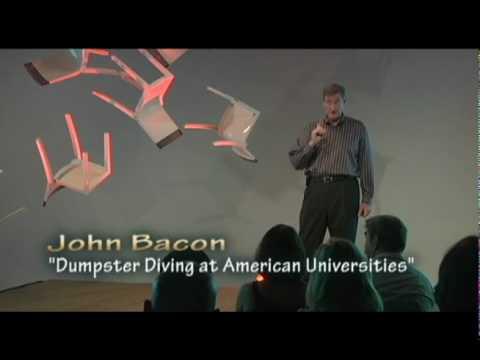 Dumpster Diving at American Universities