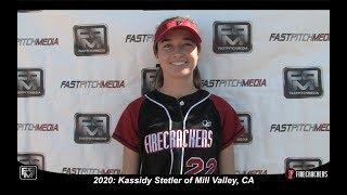 2020 Kassidy Stetler Pitcher and First Base Softball Skills Video