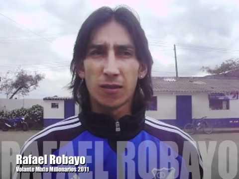 Palabras de Rafael Robayo