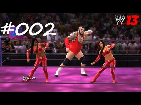 Let's play WWE 13 Universe Mode #002 Xardas' Debüt | Xardas 3:16 [HD/DE]
