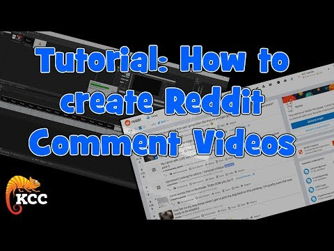 Tutorial: How To CREATE REDDIT COMMENT Videos
